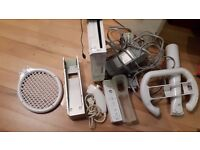 wii console all leads pad all ad ons sencor stand