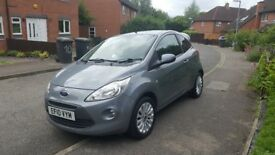 Ford Ka 1.3, Grey, Manual, Air conditioning, ***LOW MILEAGE*** 44,000 Miles, Good condition.