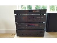 Yamaha Hi-Fi : Amp, CD player, Cassette deck, Tuner