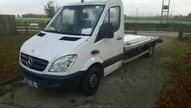 2008 Mercedes sprinter 311 recovery truck