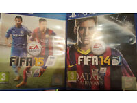 PS4 FIFA 14 & 15