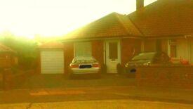 3 bedroom semi-detached bungalow to rent