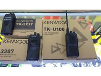 All types of walkie talkies (Motorola, Kenwood,Icom)