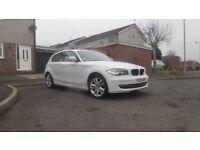 BMW 1 series 116i Sport White 5 Door Hatchback NEW ENGINE