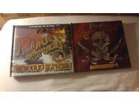 2 x high quality pirate books brand new