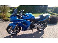 Kawasaki ER6F er6-f 8,200 miles MOT until 20/04/19*no advisories* A2 ready or removable