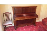 Crane and Sons Piano with nice woodwork
