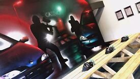Commercial & Domestic Mural Artist