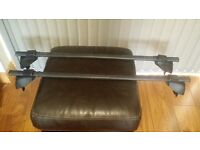 EQUIP ROOF RACK BARS TO FIT VAUXHALL ASTRA MK4 (WITH PUSH BACK SLOTS ON ROOF)GREAT CONDITION