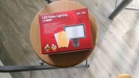 Hd-126 led video lighting