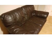 A very comfy 2 seater leather sofa in excellent condition.