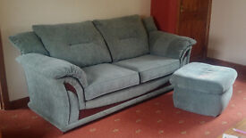 Lovely comfy sofa in sage green