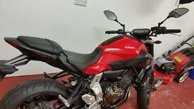 Yamaha MT 07 2014 - only 3234 mies