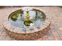 Garden fountain and other peripherals