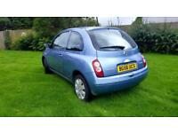 Nissan Micra 1.2 Petrol + LOW MILEAGE + 2006 + HPI CLEAR