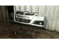 Vauxhall Vectra SRi Facelift Front Bumper Complete in Silver 2005 onwards