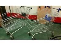 2x no name shopping trolley