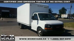 2013 GMC Savana G3500 16Ft V8 Gas Unicell Box