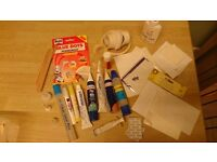 Mixed tub of adhesives for card making, crafts, scrapbooking