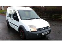 FORD CONNECT 1.8 TDCI CREW VAN (4 SEATER) X-POLICE