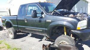 Parts truck