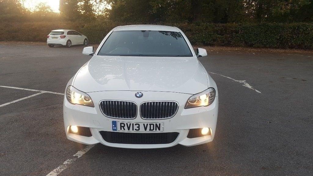 2013 BMW F10 520D M SPORT 184 SAT NAV MEDIA PACK DVD BLUETOOTH PADDLESHIFT  AUTO DIESEL not 320d 530d   in Hillingdon, London   Gumtree