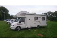 MOTORHOME FIAT DUCATO 2.8 JTD SWIFT LIFESTYLE 630L 6 BERTH WITH END LOUNGE