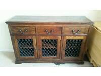 Laura ashley sideboard and matching mirror