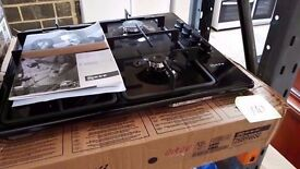 Boxed Black Brand New 60 cm Neff Gas Integrated Hobs