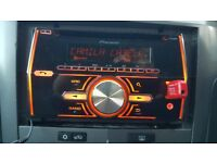 Pioneer FH-X700BT Double Din car stereo with Built in Bluetooth and microphone
