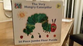 Hungry Caterpillar - 24 piece floor puzzle