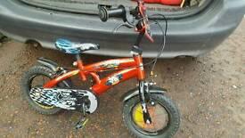 Children's kids boys bike bicycle