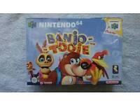Nintendo 64 Banjo Tooie SEALED