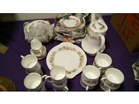 Royal Standard Bone China Vintage Tea Set / Coffee Set