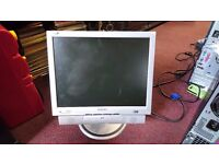 Philips 150B 15 inch LCD VGA monitor plus with Stereo Speakers
