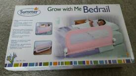 Childs bedrail - toddler bed