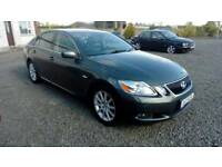 08 Lexus GS300 EX Auto 4 Door Black Leather Trim Nice Car Can be seen anytime