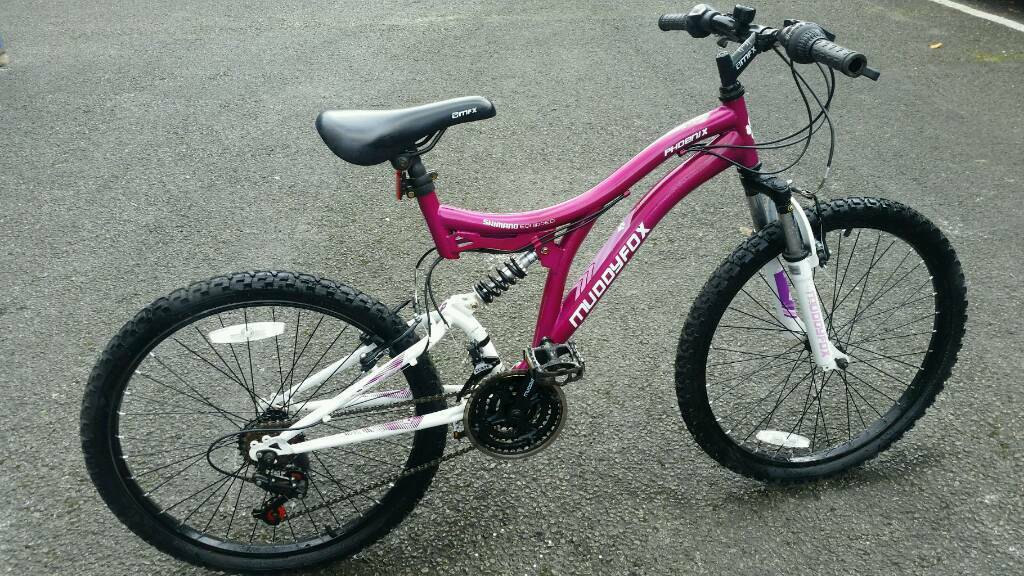 Muddy fox mountain bike