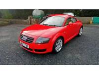 05 Audi TT 1.8 Coupe 3 Door Service History MOT Aug 18 Leather Trim ( can Be viewed inside ANYTIME
