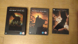 BATMAN BEGINS TWO DISC DELUXE EDITION WITH COMIC BOOK