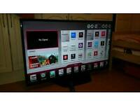 LG 47 inch LED FullHD SMART tv with DualCore CPU, WiFi and Freeview HD