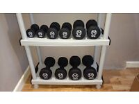 Matt Roberts set of Dumbbells 2 to 10kg