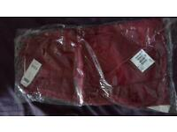 Ladies Red Crop style Jeans (Next) Red Size 12 - Brand New with tags