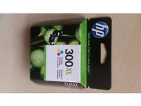 HP 300XL Tri-Colour original HP colour ink toner cartridge