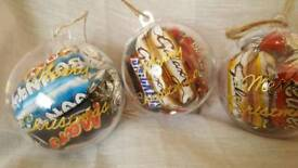 Celebrations filled Christmas bauble
