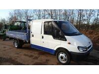 2006/06 Ford Transit D/C 350 LWB Truck Drop Side Pick Up 2.4 Turbo Diesel call 07956-158103