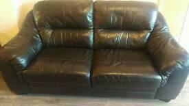 Leather Sofa (3 seater)