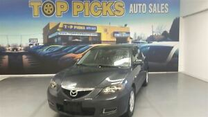 2007 Mazda MAZDA3 Automatic, low mileage, clean carproof, certif