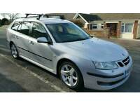 SAAB 9-3 1.9 T/D 'VECTOR' EST (120BHP) 2006 56PLATE FSH,FULL MOT (NO ADVISORIES!)