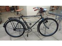 Beautiful fully restored 1938 German 'Stricker' bicycle. Known full history. Lovely to ride.